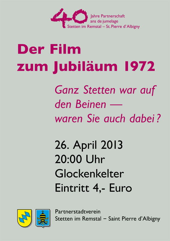 Der Film zum Jubiläum 1972